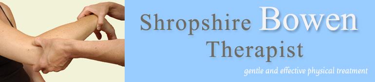 Shropshire Bowen Therapist